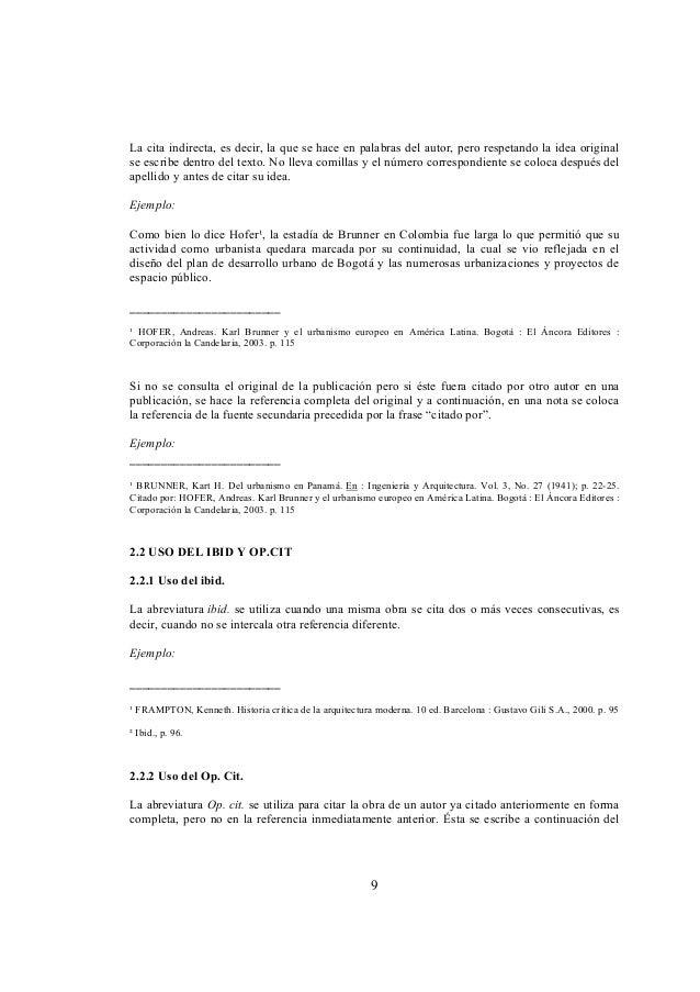 Normas Icontec Citas 129776