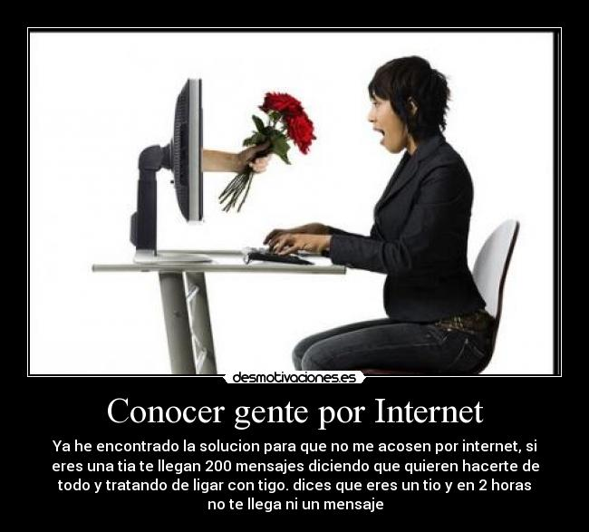 Conocer Personas Internet 254052